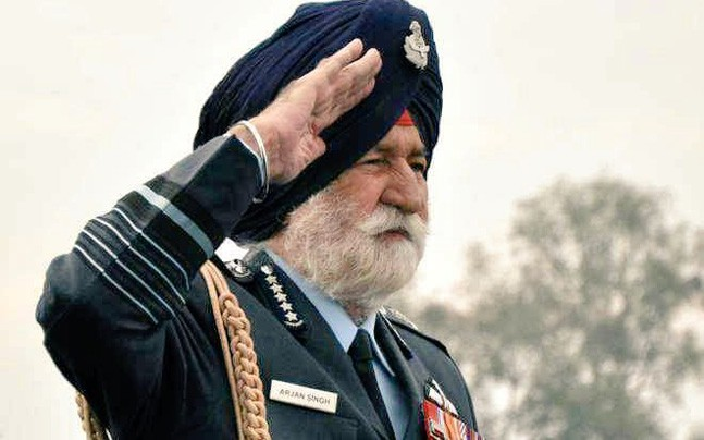 """Marshall of the Air Force, #ArjanSingh"